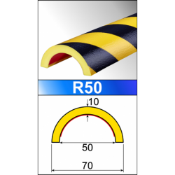 Perfil Flexible R50