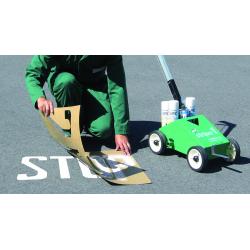 Plantillas para Señalización - kit nº1 Parking