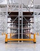 Barreras de protección para estanterías